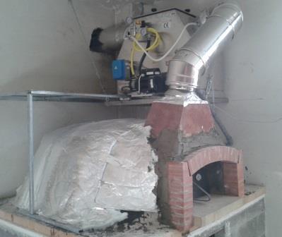 Forni a legna stock in promozioni for Abbattitore fumi forno a legna