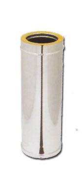 Canna fumaria doppio parete inox stock in promozioni for Canna fumaria coibentata bricoman