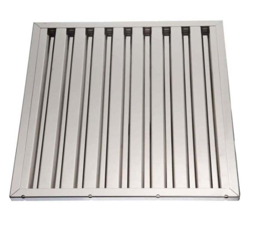 Labyrinth filters for range hoods stainless steel 50 x 40 X 2