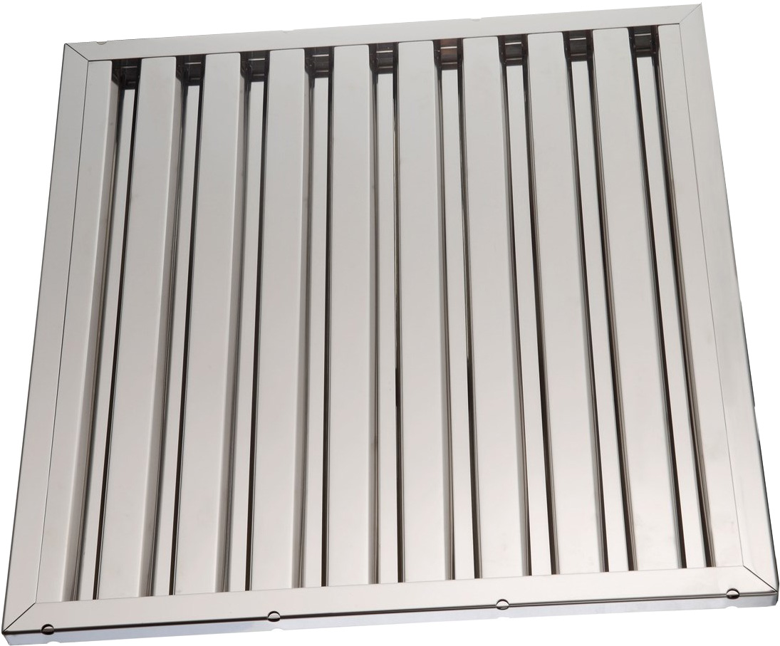 Labyrinth filters for range hoods stainless steel 40 x40x2