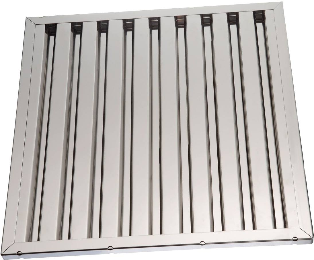 Labyrinth filters for range hood