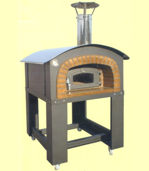 Wood oven coated galvanized