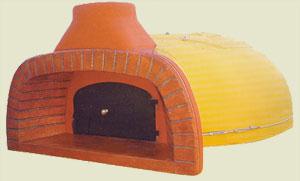Forno a legna per pizza prefabbricato