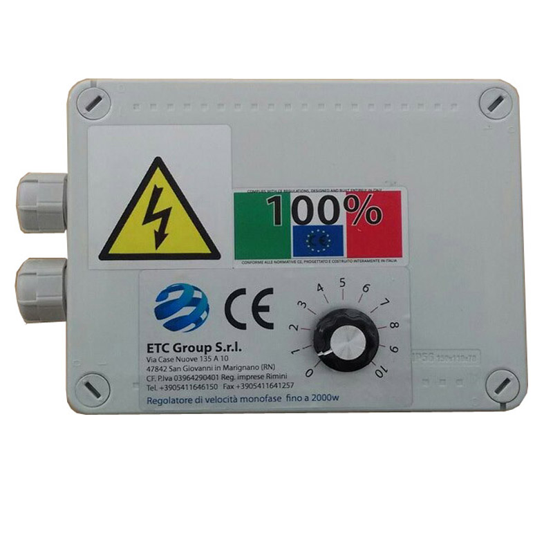 Electronic speed controllers